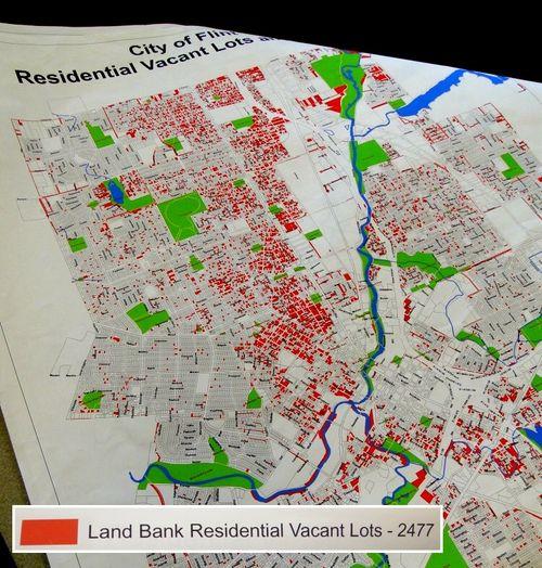 METRO - 2009-06-22 - Land Bank Residentail Vacant Lots in Flint, MI